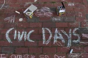 Civic Days Chalk