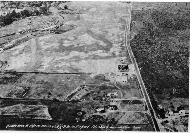 Aerial Photograph of the Airport in 1935