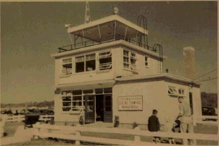 The Airport Terminal in 1940