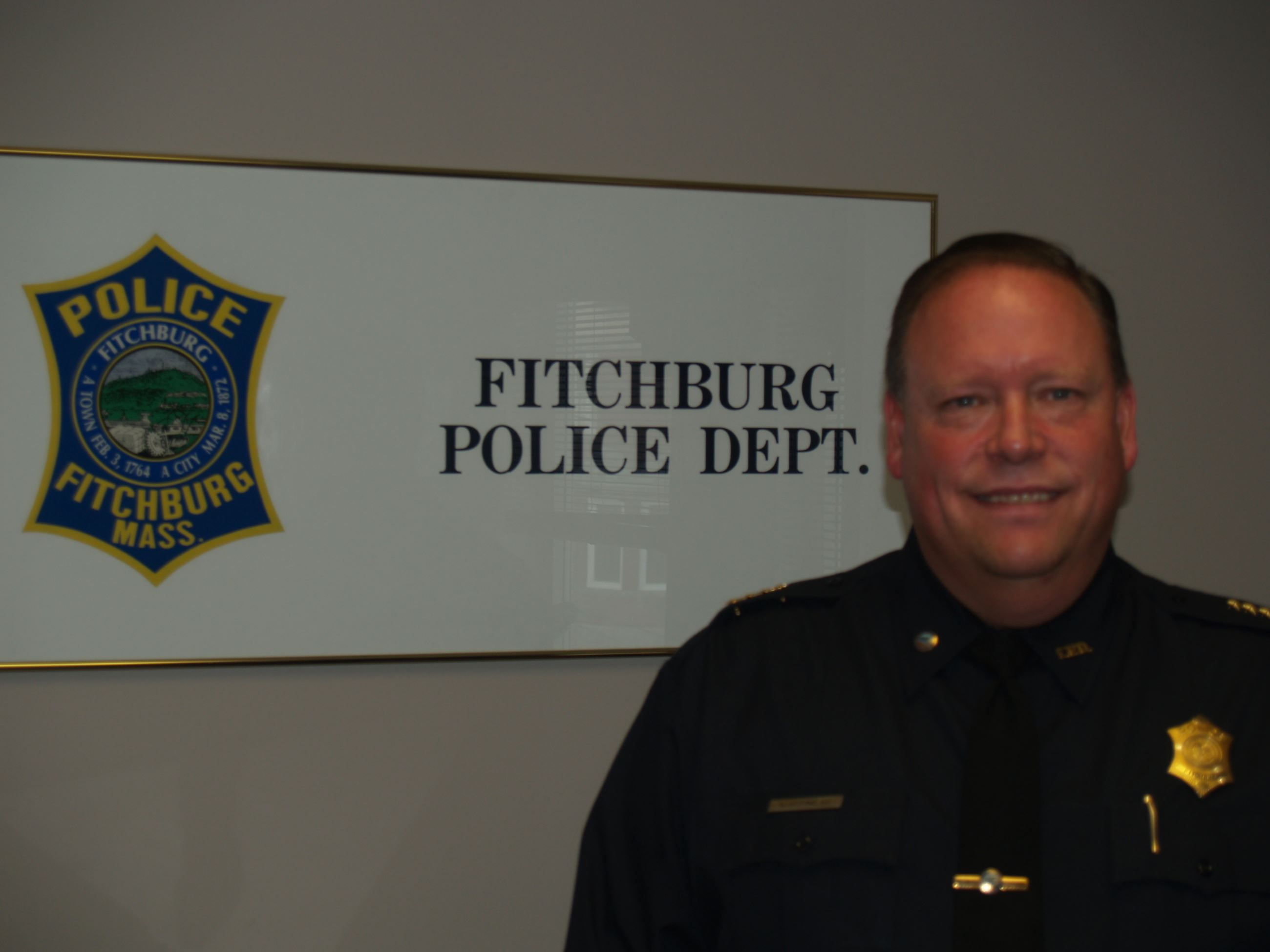 Fitchburg Chief of Police Ernest F. Martineau